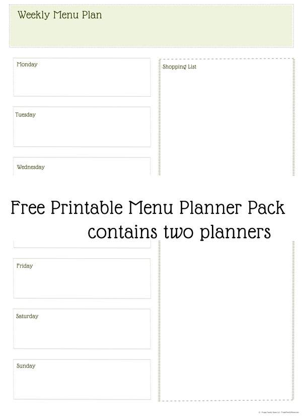 Plan Dinner Menu Planning Simplified