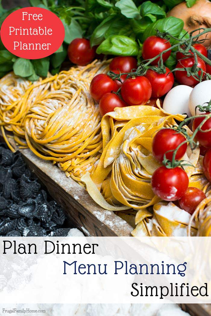 Do you get stressed when 4 o'clock rolls around and you don't know what to make for dinner? I know menu planning has really helped me out with the 4 o'clock dinner stress. If you've never menu planned or have a hard time menu planning I've got a few great tips to get you started. Plus a free printable menu planner pack too.