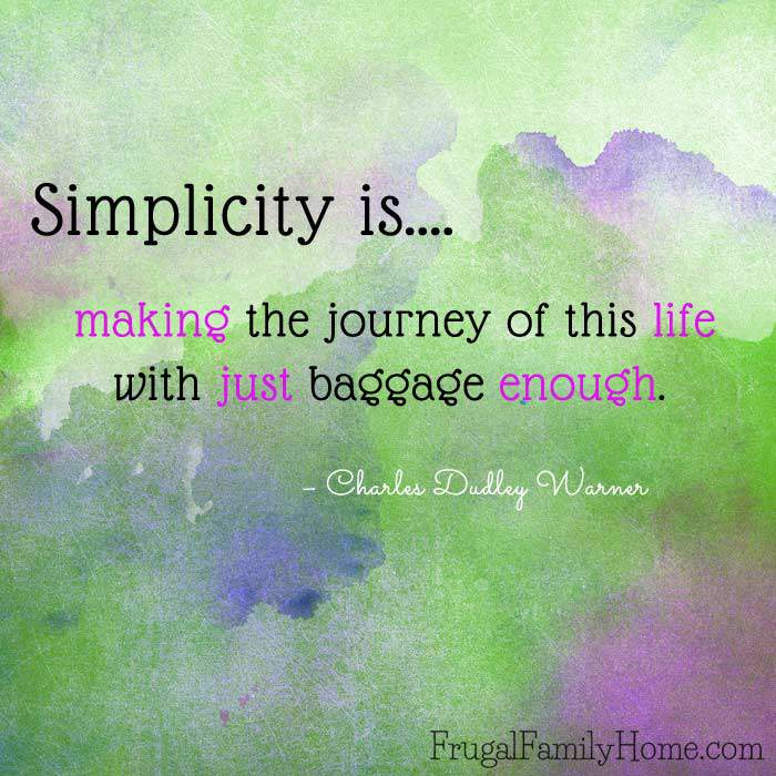 Living a simple life can seem, well simple, but actually getting it done is harder than you might think. The first step in simple living is defining what it means to you. Here's what simple living means to me. I would love to hear what simple living looks like to you.