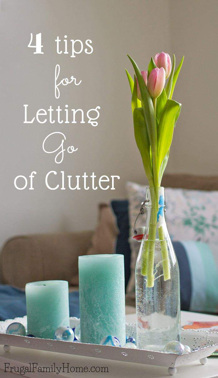 When you start decluttering it can be hard. There is so much to go through and how do you figure out what needs to go and what you need to keep. I've got 4 tips to help you determine if the items you have are clutter and need to go, or if it's something useful you'll want to keep.