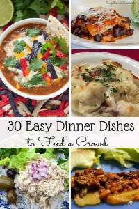 30 Easy Dinner Dishes to Feed a Crowd