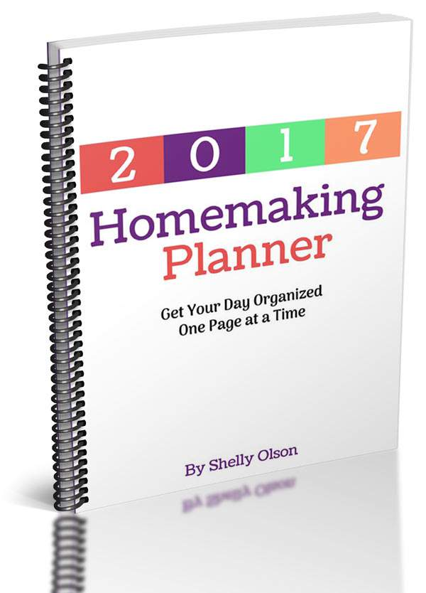 Need a new planner for the new year? Come check out the new 2017 printable homemaking planner. It has 60+ pages and can be customized too.