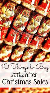 10 Things to Buy at After Christmas Clearance Sales