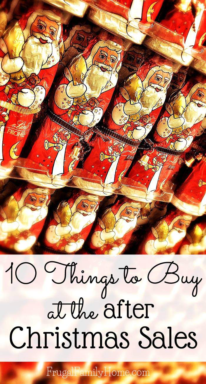 I know when Christmas is finally over you just want to not shop for a while. Christmas shopping can be like marathon shopping at time and once it done you are set for a while. Am I right? But if you want to save money not only on Christmas items but other items you can use all year long you have to check out this list of 10 things to buy at after Christmas sales.