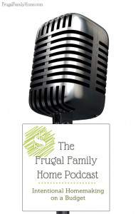 The very first episode of the Frugal Family Home Podcast, we are talking about our family and the intentional decision we made that helped us get out of debt.