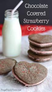 How to Make Chocolate Covered Strawberry Cookies