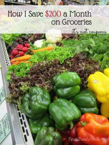FFH 002: How I Save on Groceries and How You Can Too