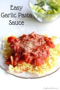 This is the best and easiest homemade pasta sauce I've ever made. It's so simple but tastes so delicious too. It only takes about 20 minutes to make too. Great for a quick and easy dinner any night of the week. If you can open a few cans and slice garlic you can make this delicious sauce in just minutes for a quick and easy dinner. Add in cooked ground beef or cooked sausage to beef it up.