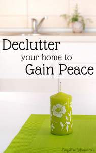 FFH 007: Decluttering Your Home to Gain Peace