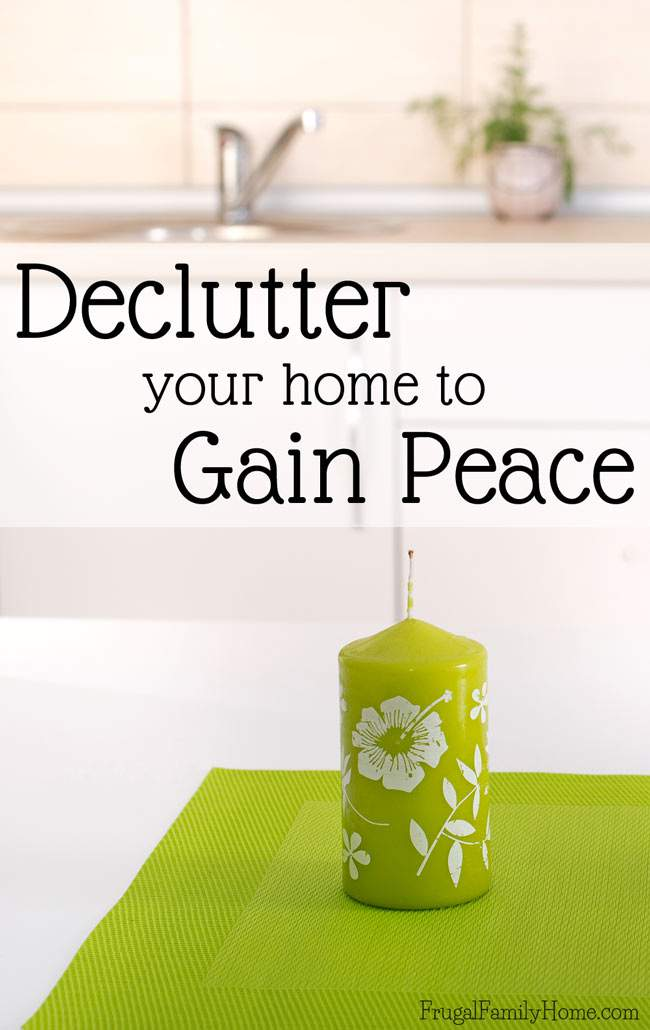 If stuff is starting to put a squeeze on your home and your mind. Regain your peace and unstuff your home. I'm sharing tips for decluttering to gain peace again in this episode of the Frugal Family Home Podcast.