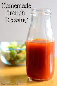 Easy and Delicious Homemade French Dressing