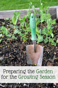 Preparing the Garden for the Growing Season