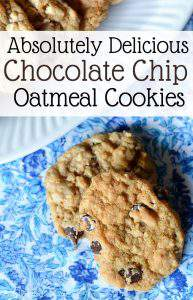 How to Make Dairy Free Chocolate Chip Oatmeal Cookies