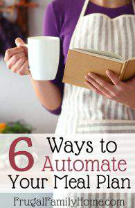 FFH 015: 6 Ways to Automate Your Meal Plan