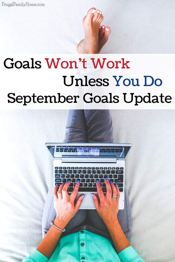 The goals I'll be working on this month and how I did with my goals last month.