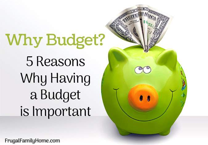 On the fence about budgeting? Take a peek at these 5 reason why budgeting is important. They help us turn around our finances.