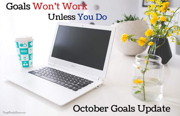 The goals I accomplished in September and what I'll be working on in October too.