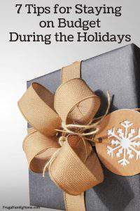 Holiday Spending, 7 Tips to Keep You from Overspending