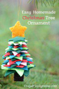How to Make These Easy Felt Christmas Tree Ornaments