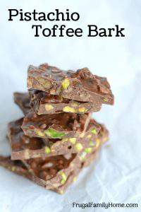 Easy and Delicious Pistachio Toffee Bark