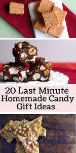 20 Last Minute Homemade Candy Gift Ideas