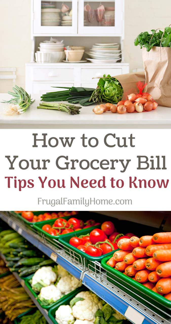 How to Save Money on Groceries ~ The first tip and the last tip are things I wouldn't have even thought to do.