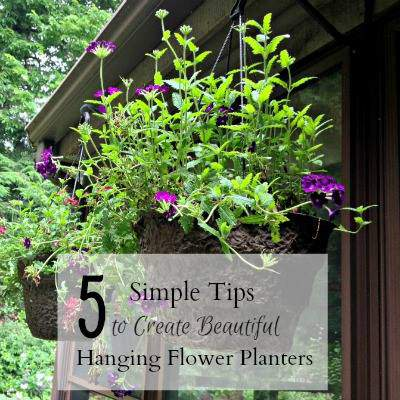 Hanging Flower Containers