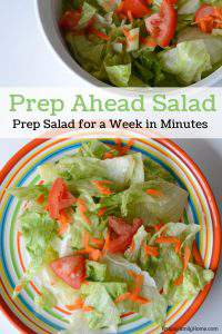 How to Prep Ahead Salad For the Whole Week