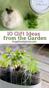 10 Gift Ideas from the Garden