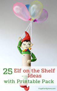 25 Good Elf on the Shelf Ideas {with a Free Printable}