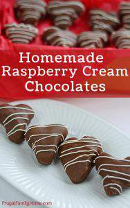 How to make raspberry cream chocolates