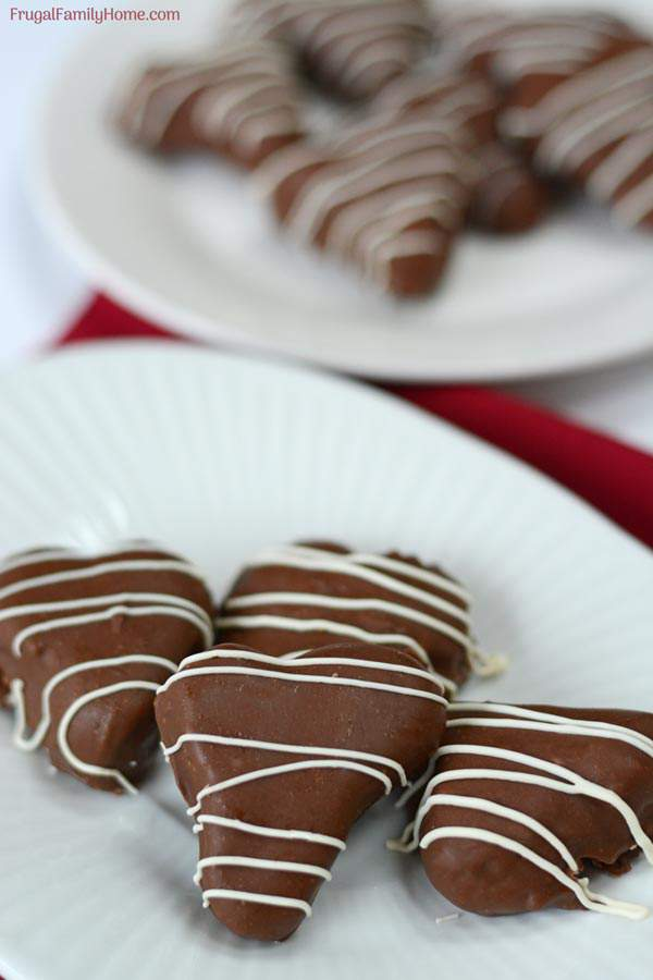 Homemade raspberry cream chocolates for Valentine's day