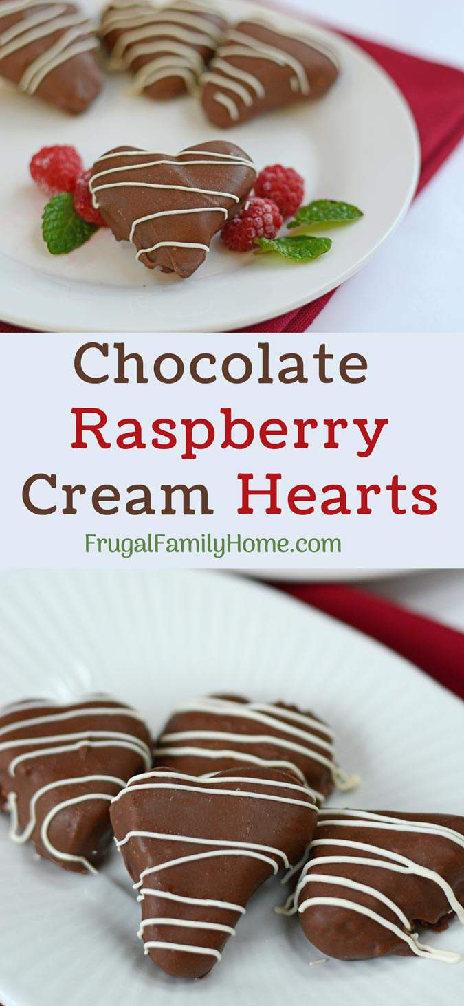 The pin for the raspberry cream hearts