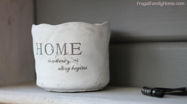 Home is where the story begins for a homemaker cup