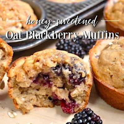 Jami's Blackberry Muffins