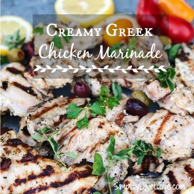 Michelle's Greek Chicken Marinade