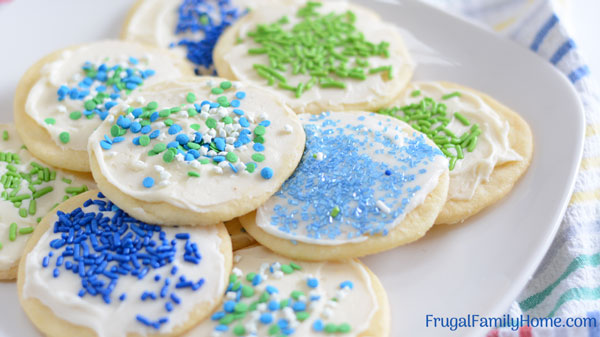 The sugar cookie recipe without butter frosted cookies unclose
