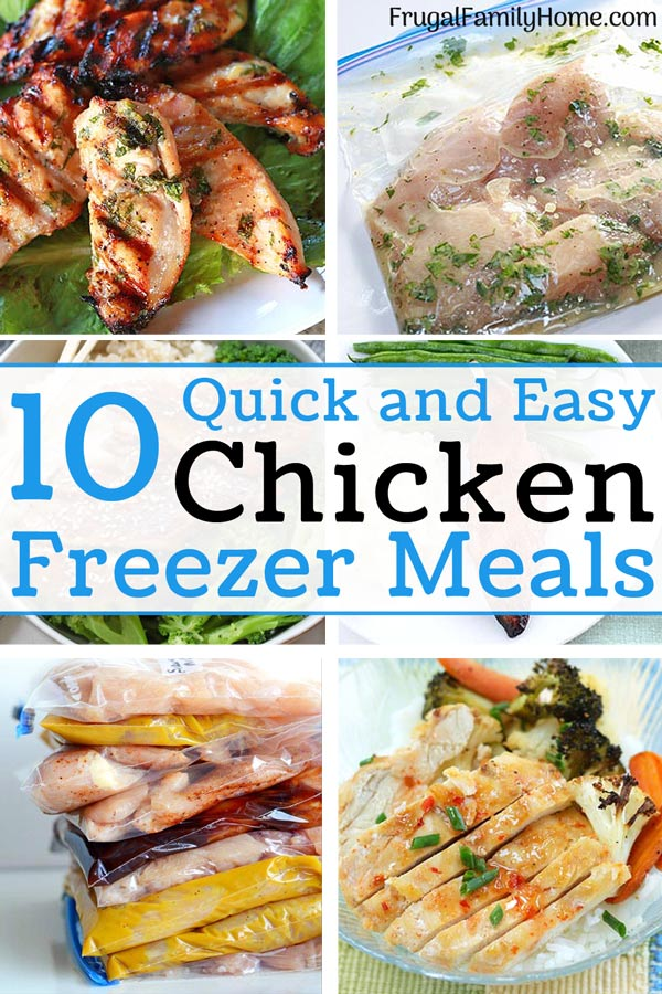 the best chicken freezer meals for the grill 6 photos