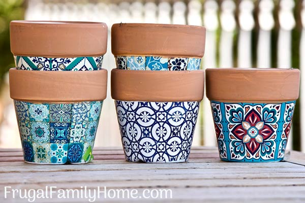 A few pots to use in a container garden