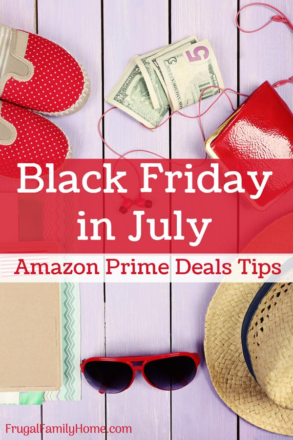 Black Friday in July Amazon Prime Day