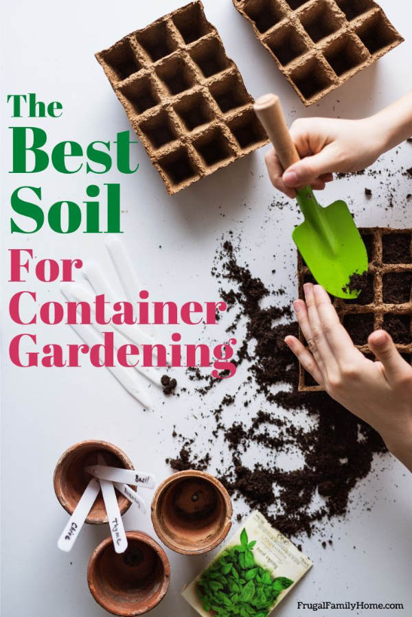 planting plants in soil