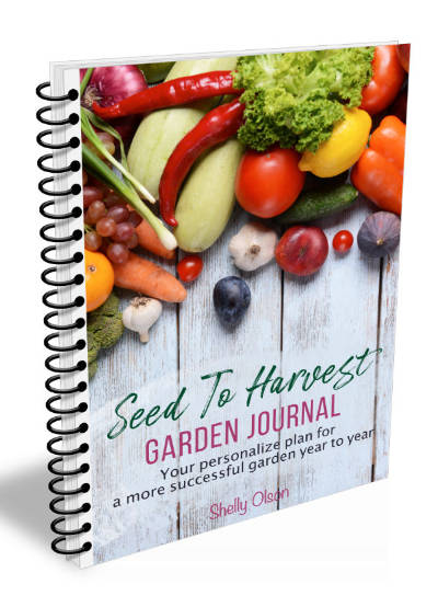Seed to Harvest Garden Journal 400