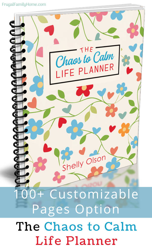 spiral bound chaos to calm life planner